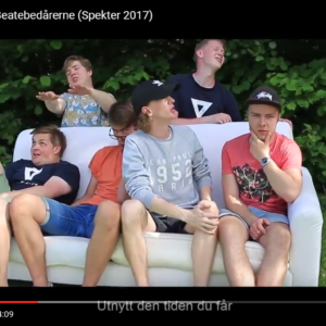 Ten Sing Norway-gutta slo til med egen musikkvideo