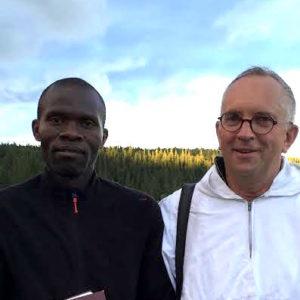 Brødrene Stephen og Joakim kommer på besøk fra Taizé